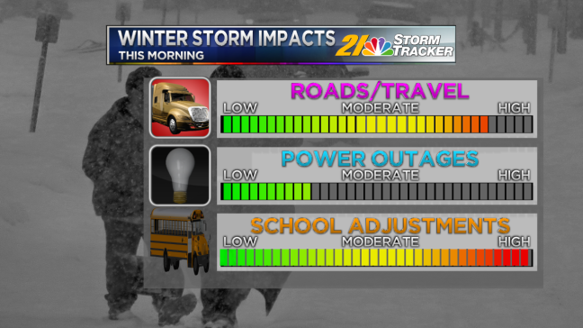 Winter Storm Impacts