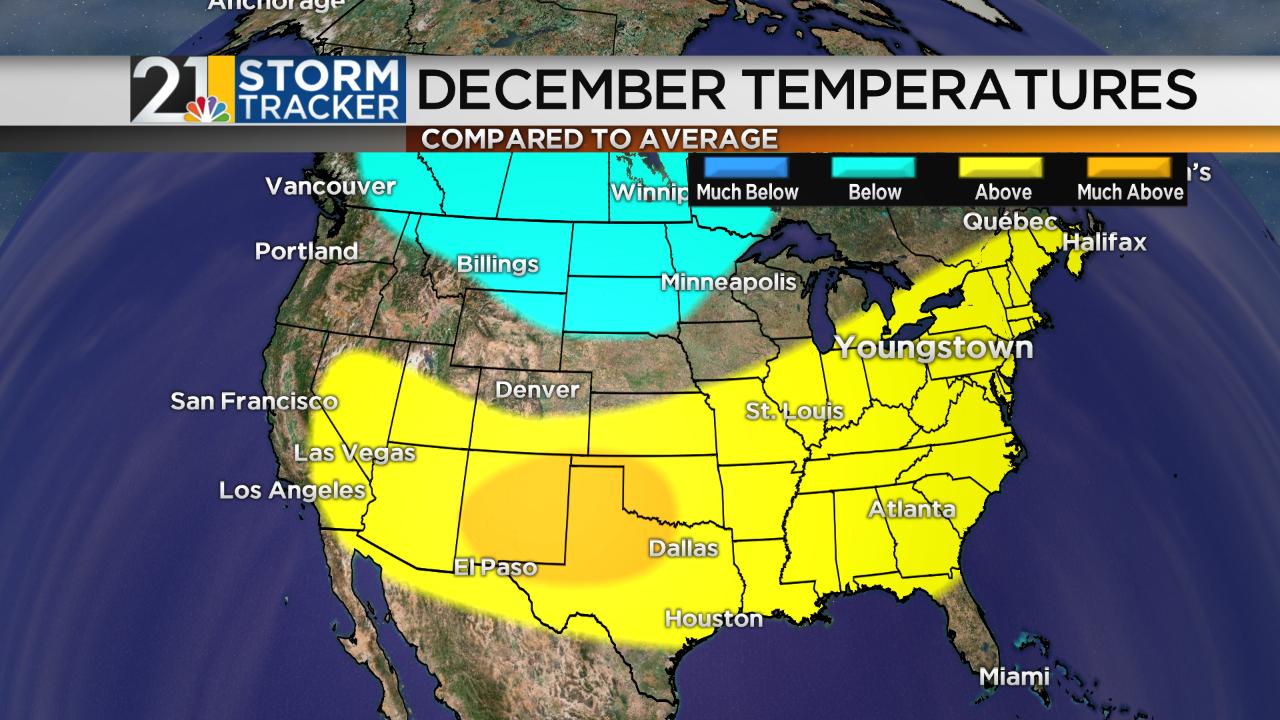 Winter Forecast Chief Meteorologist Eric Wilhelms Blog - Average december temperature in las vegas